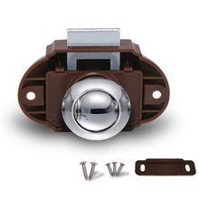 Camper Car Push Diameter 26mm Lock RV Caravan Boat Drawer Latch Button Locks For Furniture Hardware