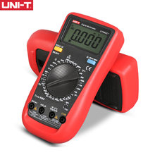 UNI-T UT890C UT890C + UT890D + Manual Do Multímetro Digital True RMS Gama AC DC Frequência Capacitância Tester Temperatura Backlight