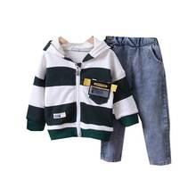 Детская Хлопковая одежда весна осень для маленьких мальчиков