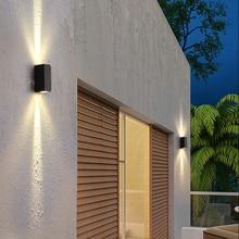 Outdoor Waterproof Wall Lamp LED Wall Light Wall Sconce Terrace Porch Garden Lights Wall Lamps Indoor Wall Light Aluminum RF35