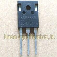 10 pces 65f6660 ipw65r660cfd para 247 mosfet transistor