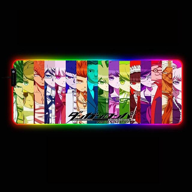 большой игровой коврик для мыши mairuige из аниме «данганронпа» фотография