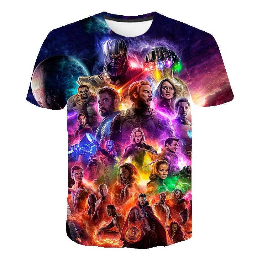 夏のキッズ Tシャツボーイズ服 hero 無限大戦争スーパー hero Thanos さんハルク Tシャツ服ベビー