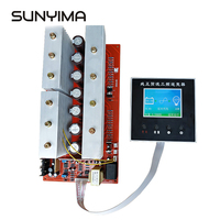 SUNYIMA Pure Sine Wave Frequency Inverter Board DC12 24V 48V To 220V High power LCD Display Circuit Main Model inverters For DIY