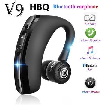 V9 earphones Bluetooth headphones Handsfree wireless headset Business headset Drive Call Sports earphones for iphone Samsung 1