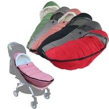 Winter Baby Kinderwagen Fußsack Warme Sack für Yoyo Yoya Babythrone Bugaboo Kinderwagen Pram Kinderwagen Zubehör für Babyzen Teil