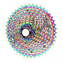 Smllow mtb красочные кассета 10 Скорость 11 13 15 18 21 24 28