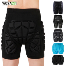 WOSAWE Unisex moto shorts Da Sci Snowboard Equipaggiamento Protettivo Hip Butt Pad Sport Estremi MTB Bike Armatura motocross shorts