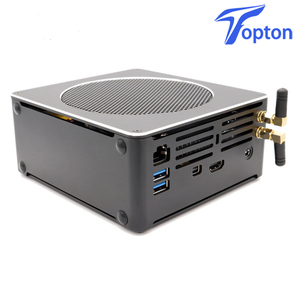 Image 5 - Topton Mini PC Intel Xeon E3 1505M v5 4 Core 8 Threads 2.80 GHz Desktop Computer Win10 Pro 16GB DDR3L AC Wifi 4K Mini DP HDMI