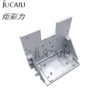 Jucaili good price printer single head frame convert for xp600 dx5 dx7 5113 print head parts bracket head holder plate