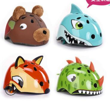 5-8 Years Children's Bike Helmets High Density PC Cartoon Skating Child Cycling Riding Kids Bicycle Helmets Skiing Safety Helmet
