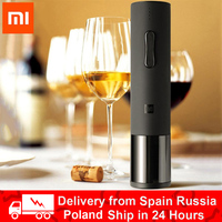 2020 Original xiaomi Automatic Red Wine Bottle Opener cap Stopper fast Decanter Set Electric Corkscrew Foil Cutter Cork Out Tool
