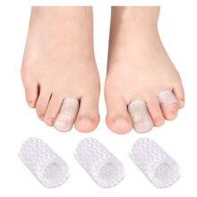 1 para palec u nogi Protector Sebs rury pokrywa Cap ulga w bólu zapobieganie pęcherze odciski paznokci narzędzia pielęgnacja stóp separatory palców