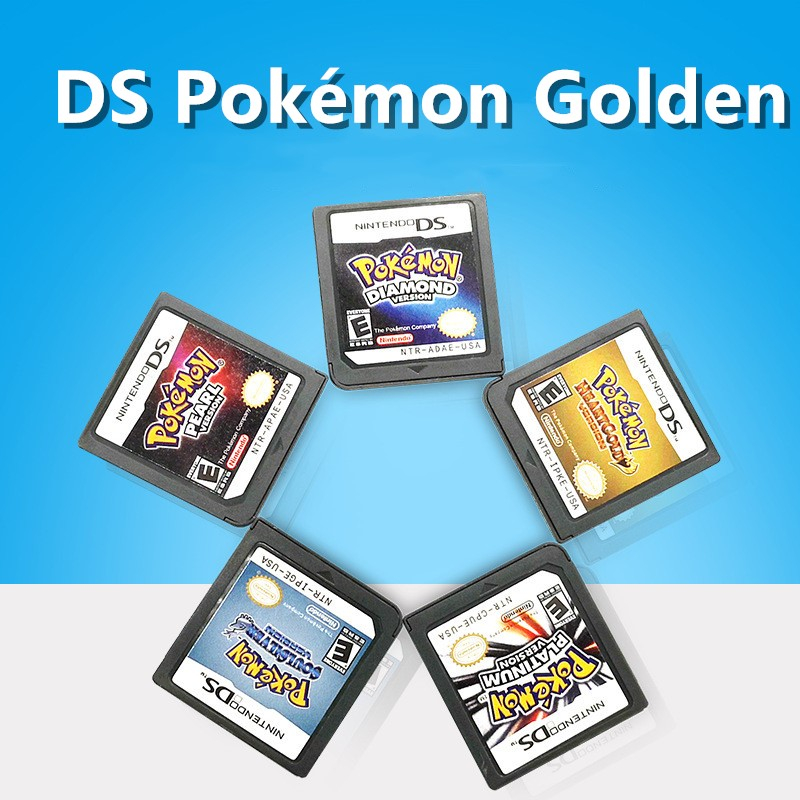 Pokémon DS Game Cartridge Console Card Mari Old Series English Language For Nintendo DS 3DS 2DS  USA EUR A8