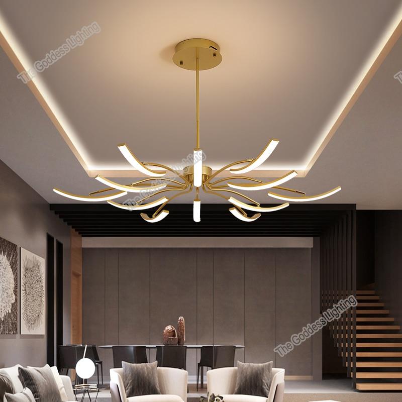 Modern Chandeliers LED ceiling lamp decor for home decoration kitchen bedroom living dining room Lustres indoor lighting luxury