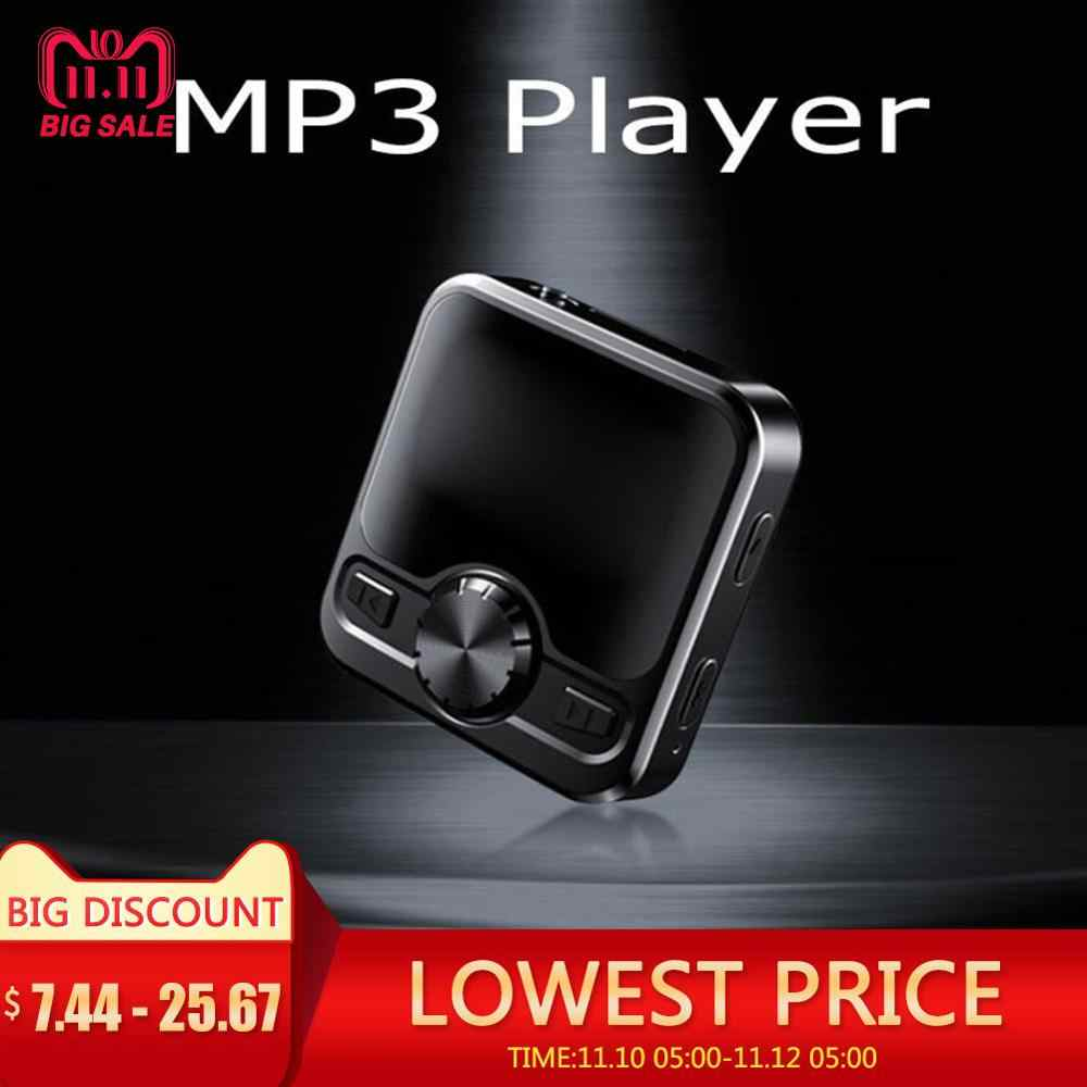 M9 HIFI Sports Bluetooth MP3 Player speakers Bluetooth Earphone Voice Recorder Hifi MP3 Recorder 1.2 inch Display