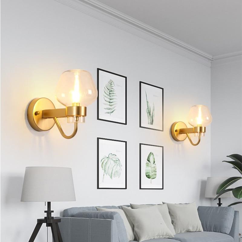 Işıklar ve Aydınlatma'ten Duvar Lambaları'de Yaratıcı oturma odası TV arka plan yatak odası başucu ofis koridor merdiven lambası duvar aplik sutyen çok kafa led duvar lambası duvar lambası title=