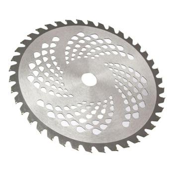 60 dientes de disco de Metal 255mm 25,4mm 60T partes de cortacésped Eater Trimmer cabeza cepillo Weeds cortador herramientas
