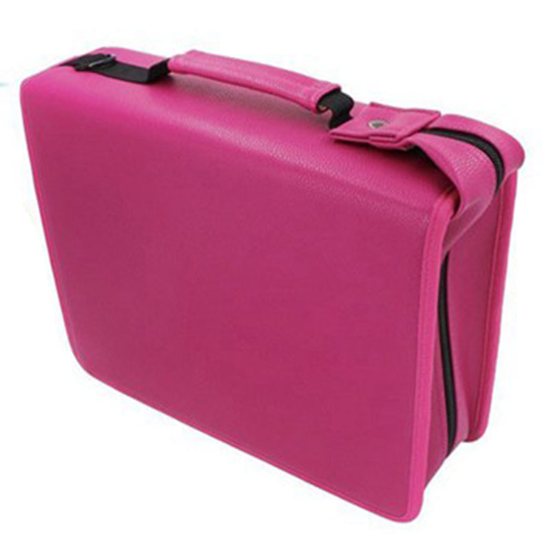 Pencil Case 216 Hole Pu Leather Professional Large Capacity Detachable Pencil Case Stationery Supplies Painting Special