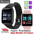 Новинка 2021, умные часы Y68, фитнес-трекер с артериальным давлением, смарт-браслет, водонепроницаемые спортивные Смарт-часы для Android, IOS, D13, D20