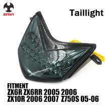 Motorcycle Accessories Tail light Turn Signal Rear Brake Lamp For KAWASAKI ZX6R ZX6RR Z750S 2005 2006 ZX10R ZX 10R 2006 2007