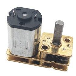 Реверсивный миниатюрный металлический редукторный двигатель N20, 3 в, 6 в, 12 В, низкая скорость от 15 до 1000 об/мин, используется для самостоятель...