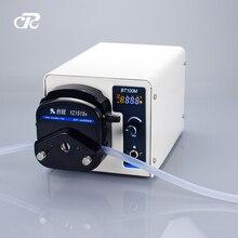 مضخة تمعجية لأنبوب تحويل السائل في المختبر