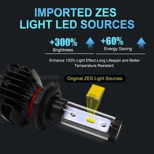Image 2 - 2x H7 H4 LED H11 9005 HB3 9006 HB4 H8 H13 H16 EU 9012 9000Lm Car Led Headlight Blubs Lamp 6000K 50W Auto Light Headlamps DC12V
