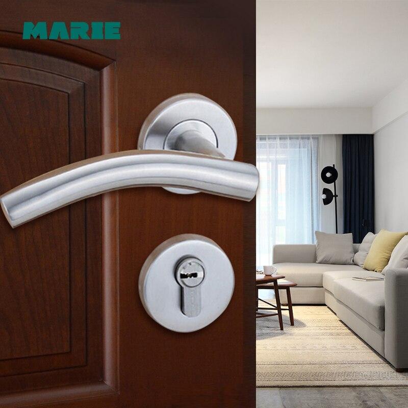 LH1006 Modern Stainless Steel Tube Door Handle/lever Door Handle