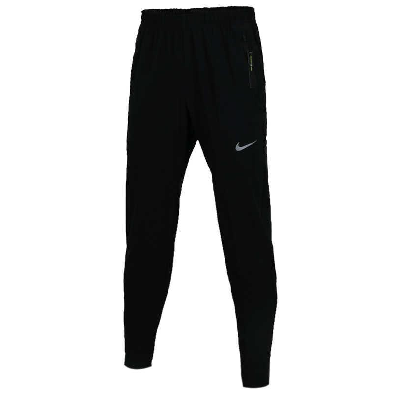 Originele nike como m nk essntl tecido calça masculina preto calças moletom esportes