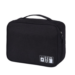 Image 2 - HJKL bolsa Digital para accesorios de viaje, Cargador USB, bolsa de almacenamiento para auriculares, organizador electrónico grande a prueba de golpes