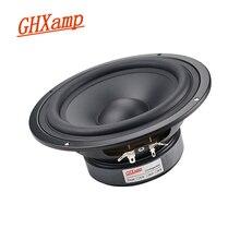 GHXAMP 6,5 дюймов 178 мм низкочастотный динамик с басами Среднечастотный динамик единиц HIFI Настольный PA динамик домашний кинотеатр громкоговоритель 8ohm 130W 1 шт.