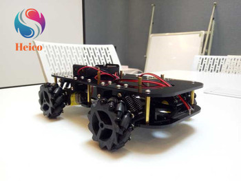 4Wd Smart Robot Car Chassis With TT Motor 4Pcs 60Mm Mecanum Wheels for Omnidirectional Trolley Chassis DIY Robotic Model
