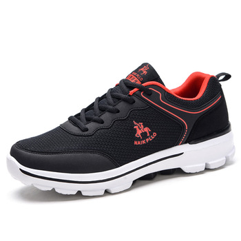 NAIKPLLO running shoes for Men outdoor sport trainers breathable sneakers light weight anti-skid summer autumn shoes