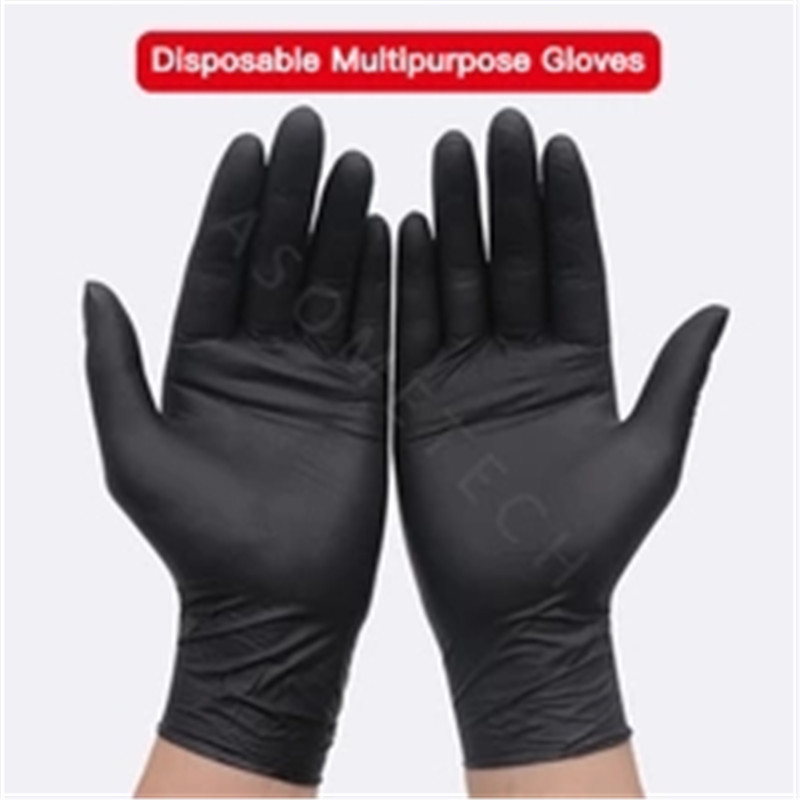 100 PCS Nitrile Rubber Exam Gloves Disposable Latex Medical Grade Gloves Gloves Food Medical Testing Household Cleaning Washing