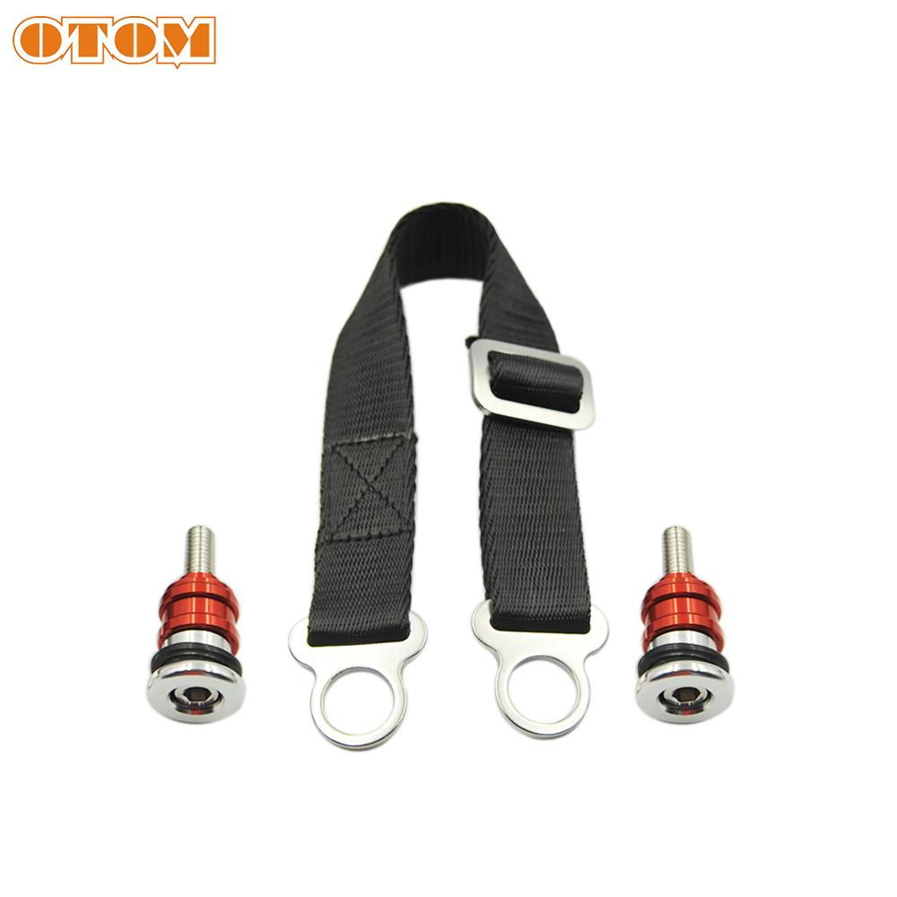 lowest price OTOM Rescue Pull Strap Sling For Motorcycle Dirt Bike Motocross Seat Rescue Pulling Belt For KTM HONDA KAWASAKI SUZUKI YAMAHA C2