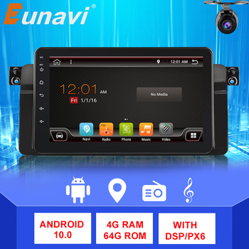Eunavi 1 din Android Car multimedia Radio Player for BMW E46 M3 318i 320i 325i Navigation GPS 1din autoradio Stereo RDS IPS WIFI image