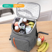 Cooler Bag Backpack Picnic thermal Food Delivery Ice Thermo Lunch Camping Refrigerator Insulated Pack Accessories Supplies