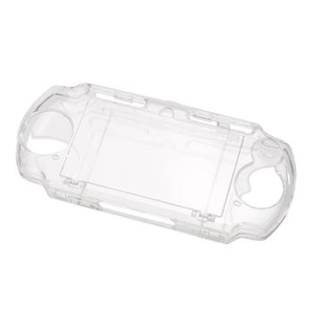 Protector de cristal claro de llevar de viaje caso duro de la cubierta para Sony PSP 2000 de 3000