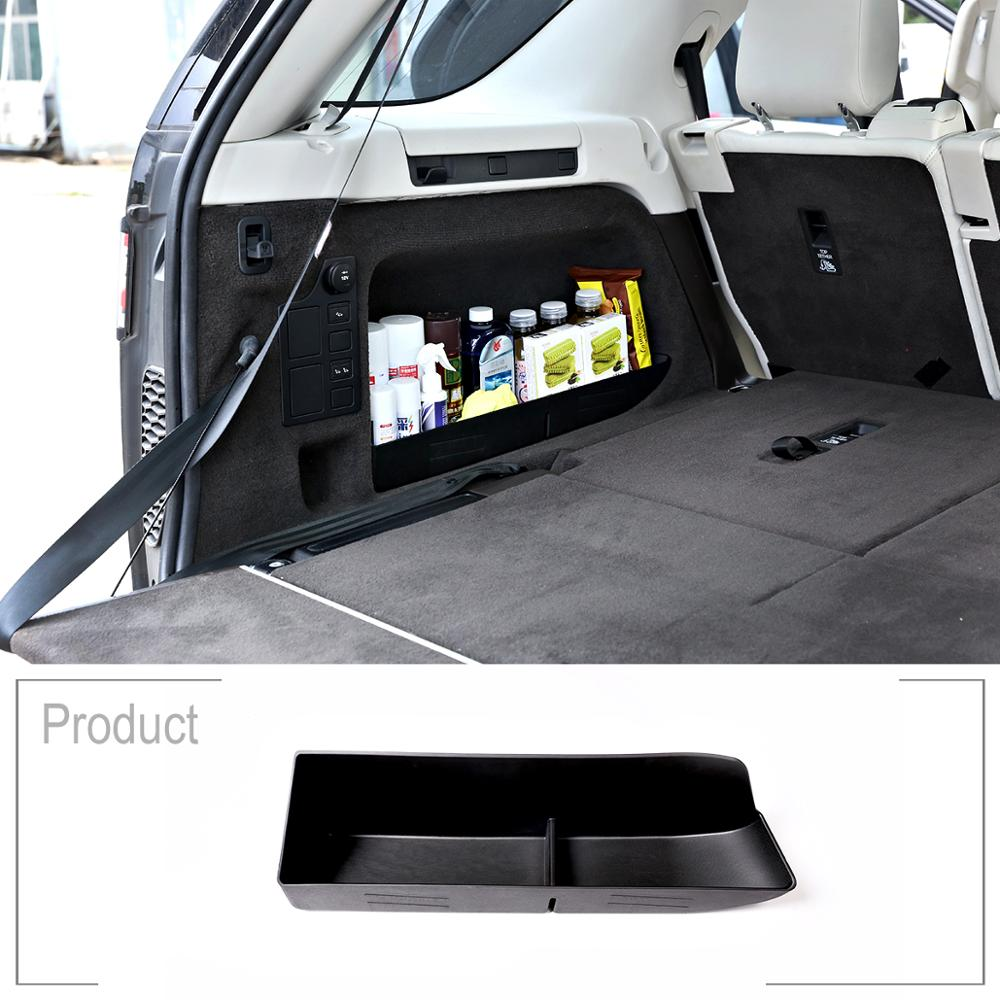 For Land Rover Discovery 5 LR5 L462 2017-2018 Car Rear Trunk Tail Multifunction Storage Box Auto Accessories