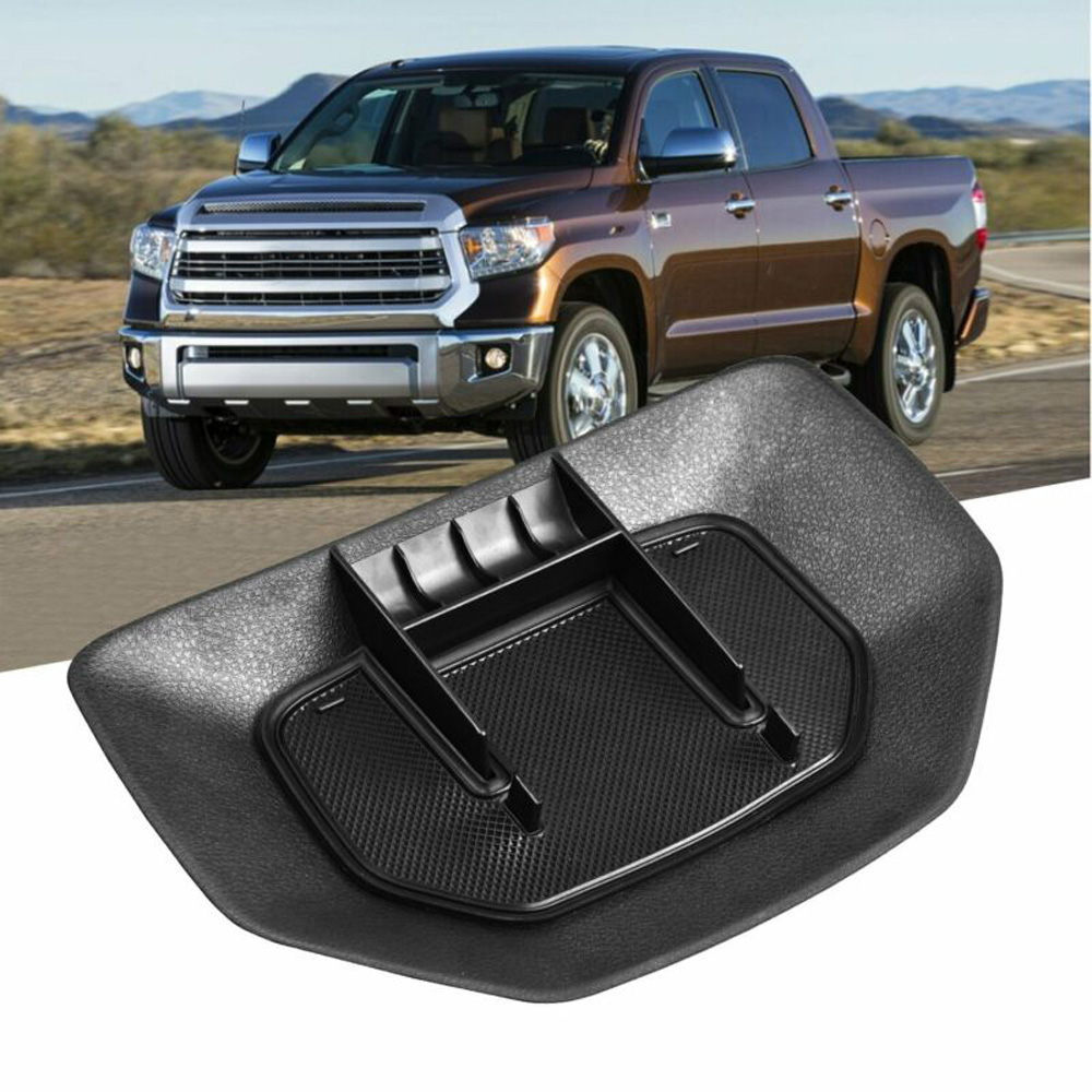 Car Accessories Dashboard Center Storage Box Tray For Toyota Tundra 2014-2019 Durable And Practical Storage Box