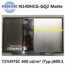 Оригинальная новая модель 14,0 дюйма, компактная модель, N140HCG-GQ2 IPS FHD 72% NTSC, 30 контактов, ноутбук eDP Matrix, матовая сменная ЖК-панель светодиодный н...