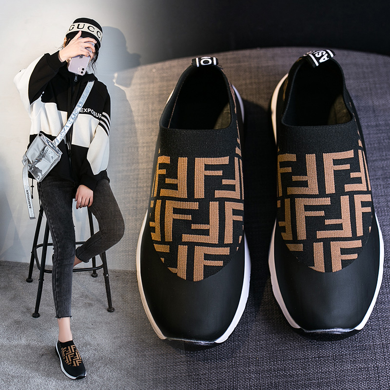 2020 Spring New Women Slip-on Sneakers Comfortable Casual Sneakers
