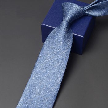 High Quality Men 8CM Tie Fashion Formal Ties for Men Business Work Necktie Dress Shirt Neck Tie With Gift Box