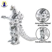 16cm Big Kaiju Anime Action Figures Mech Skeleton Dinosaur Figure PVC Figure Toy Brinquedos For Boy Gift Model Collection Toys