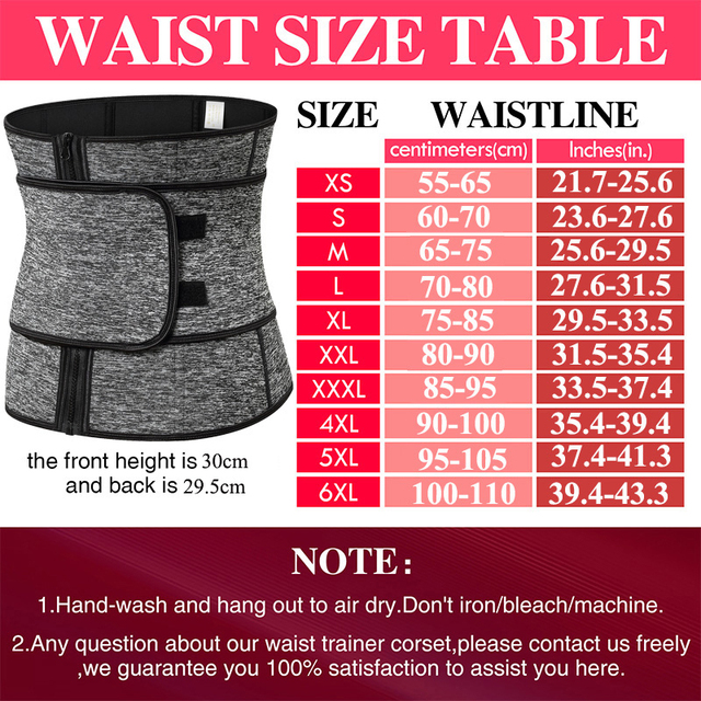 Neoprene Waist Trainer Thermo Sweat Body Shapewear Women Slimming Corset Tummy Control Belt Workout Compression Trimmer Fitness 5