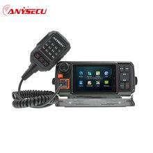 Anysecu 4G Android сетевой приемо Передатчик GPS Walkie Talkie 4G W2 Plus POC мобильное радио Anysecu N60 plus Android Wifi автомобильное радио
