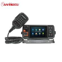 Anysecu 4G Android di Rete Ricetrasmettitore GPS Walkie Talkie 4G W2 Più POC mobile Radio Anysecu N60 Plus. Android Wifi Auto radio