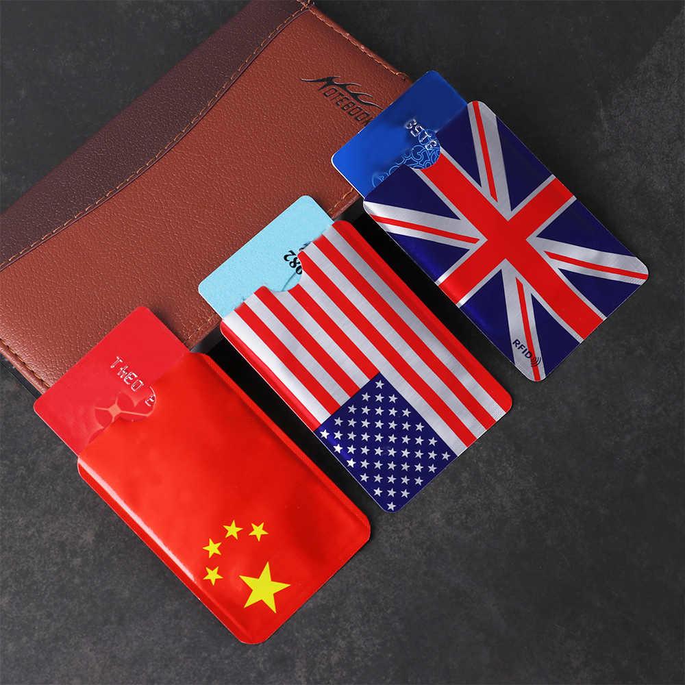 5 Pcs Anti Rfid Brieftasche Kreditkarten ID Bank Karte Fall Smart Karte Halter NFC Halter Aluminium RFID Blocking Schützen fall Abdeckung