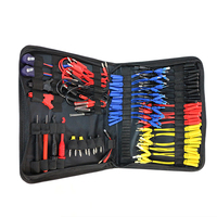 Measure Tool Test Wire Kit Auto Repair With Storage Bag MST 08 Diagnostic Electrical Circuit SRS Connector Crocodile Clips Cable